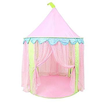 Pericross Kinder Spielzelt Prinzessin Haus für Mädchen: Amazon.de ...