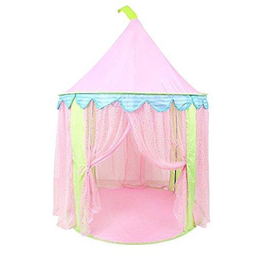 Pericross Kinder Spielzelt Prinzessin Haus für Mädchen