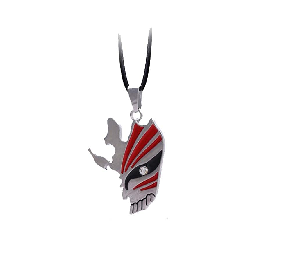 Touirch Anime Jewelry Bleach Red Metal Gift Necklace Toy