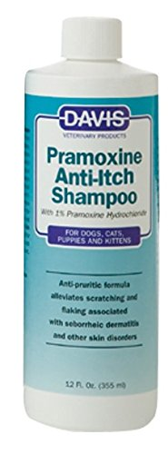 Davis Pramoxine Anti-Itch Dog and Cat Shampoo, 12-Ounce Pramoxine Anti Itch