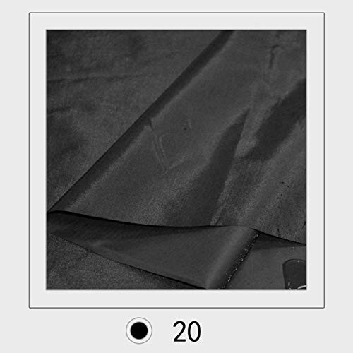 190t Polyester - Pukido 100cm150cm 190T pvc coated Polyester Taffeta fabric for tarpaulin and pet Rain coat fabric - (Color: 20)