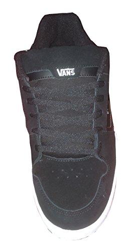 Vans Docket, Herren Sneaker Black/White
