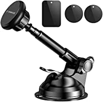 VANMASS Magnetic Phone Car Mount, Universal Phone Holder for Car Dashboard, Windshield, Air Vent, One Hand Operation...
