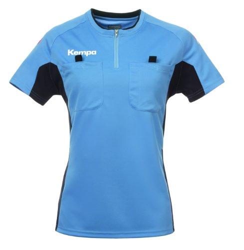 Kempa Referee - Camiseta deportiva para mujer fairblau/schwarz