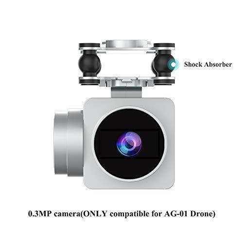 Drone Camera, 0.3MP 2.4Ghz 4 CH WiFi FPV Live Video Stream Camera Compatible TEMI AG-01 RC Drone Quadcopter Helicopter by TEMI