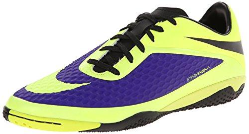 Nike Hypervenom Phelon IC - Electro Purple/Volt (11.5) by NIKE