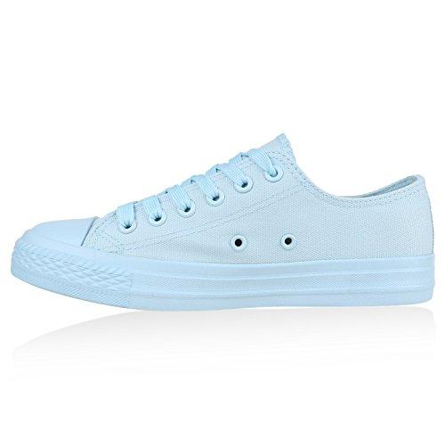 Stiefelparadies - Zapatillas de casa Mujer, color azul, talla 36 EU