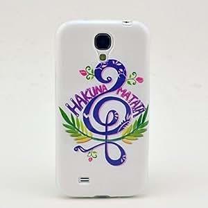 JOE Music Pattern TPU Soft Case for Samsung Galaxy S4 I9500 Kimberly Kurzendoerfer