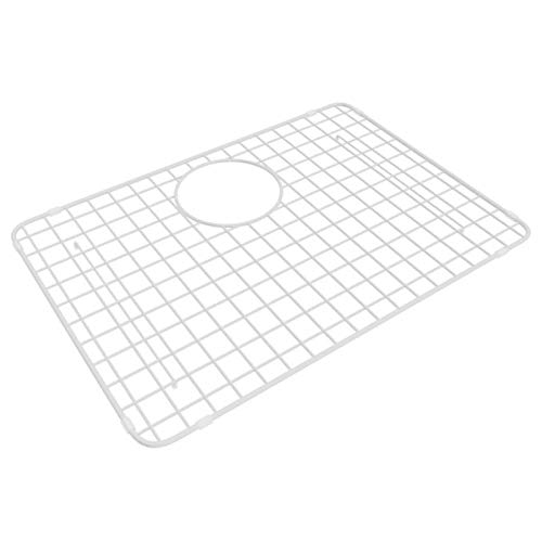 - Rohl WSG6347WH Wire Sink Grids, 18-5/8-Inch by 13-1/8-Inch, White