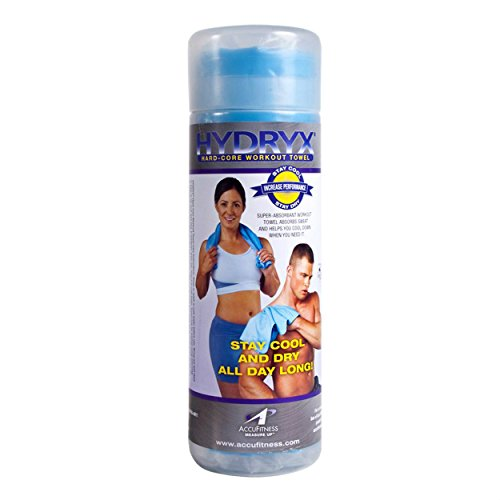 Hydryx Hard-Core Workout Towel by Accu Measure