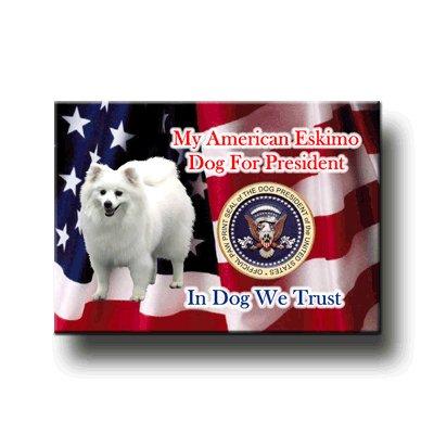 (American Eskimo Dog President Fridge)