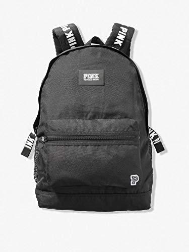 Victorias Secret PINK Campus Backpack 2019 Edition (Pure Black) (Best Backpacks For 2019)