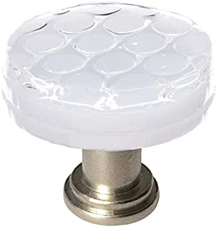 product image for Sietto R-900-SN Texture 1-1/4 Inch Diameter Mushroom Cabinet Knob