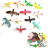 Metro Toy'S & Gift Beautiful Bird Toy Figure Play Set for Kids (Pack of 12)