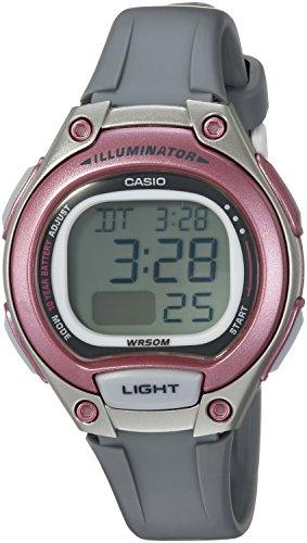 Casio Women's Classic Quartz Watch with Resin Strap, Grey, 14 (Model: LW-203-8AVCF)