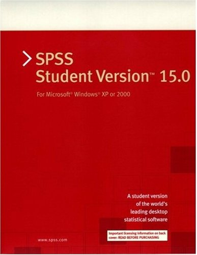 spss student software package - 9