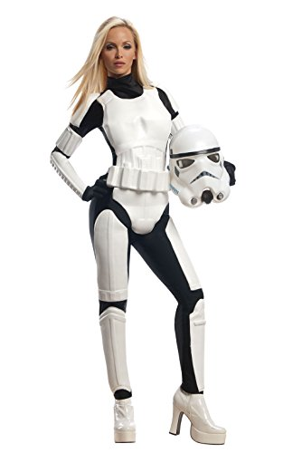 Rubie's Costume Star Wars Female Stormtrooper, White/Black, X-Small Costume (Womens Costumes)