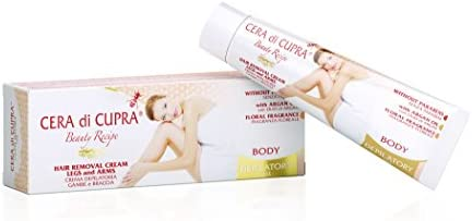 Cera di Cupra Crema Depilatorias Piernas y Brazos - 100 ml: Amazon ...