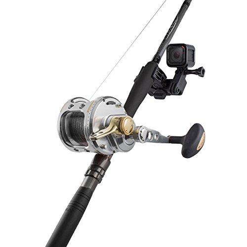 Sportsman mount for gopro philonext fixing clip gun for Gun fishing rod