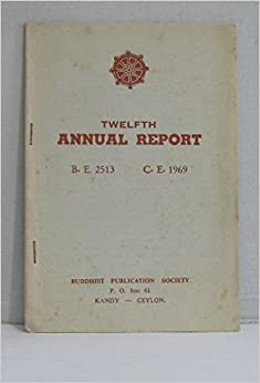 Twelfth annual report