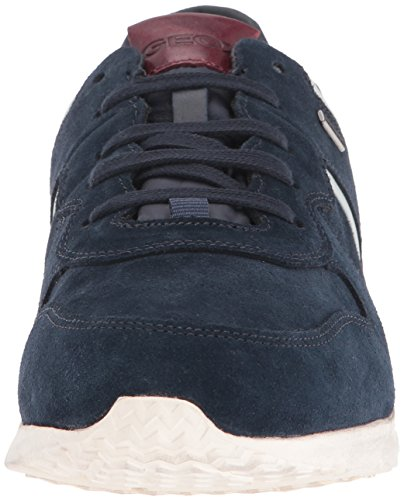 Geox U Gektor B Abx B, Zapatillas para Hombre Blau (NAVY/DK REDC4244)