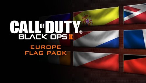 Call of Duty: Black Ops II - European Flags of the World Calling Card Pack [Online Game Code]