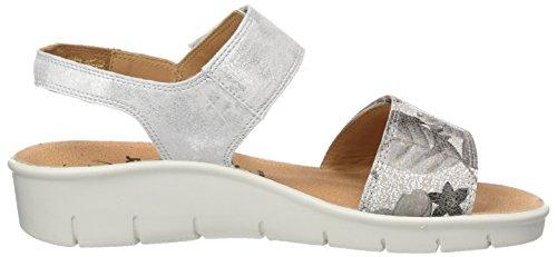 Ganter Women's Florence-f Sandals Multicolour (Offwhite/Sand) r11O4nY5
