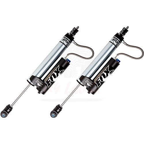 Kit of 2 Fox 2.0 Factory Series Reservoir - CD Adjuster 1.5-3.5 inch Lift Front Shocks for Jeep Wrangler JK 2010-2016