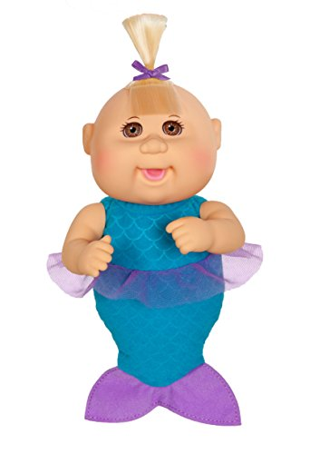 Cabbage Patch Kids 9 Inch Collectible Fantasy Friends Softbody Cuties Doll, Jewel Mermaid