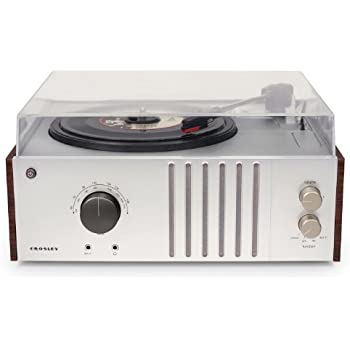 Superb Crosley CR6017A MA Player Turntable With AM/FM Radio And Aux In,