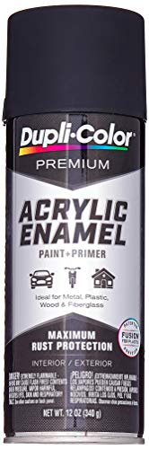 Dupli-Color EPAE10100 Black Spray Paint, 12. Fluid_Ounces