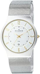 Skagen Men's 233XLSGS Slimline Mesh Watch