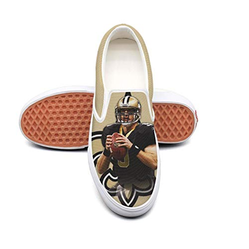 - Marinas Canvas Sneakers MVP Drew Brees for Men Quick-Drying Shoes