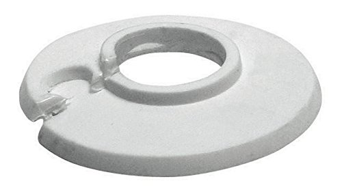 Sanitop-Wingenroth 19216 3 Klapprosette Wei/ß 4 St/ück 15 mm oder 1//4 Zoll Au/ßendurchmesser 49 mm 4er-Set Rosette
