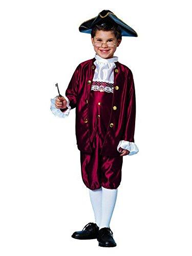 [Ben Franklin Costume (Small)] (Ben Franklin Adult Mens Costumes)