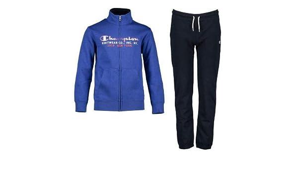 Champion Chándal Niño Full Zip Suit. 305097 B003. Azul/Marino ...
