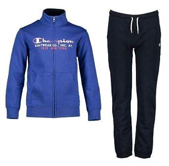 calidad real en pies imágenes de paquete elegante y resistente Champion Chándal Niño Full Zip Suit. 305097 B003. Azul ...