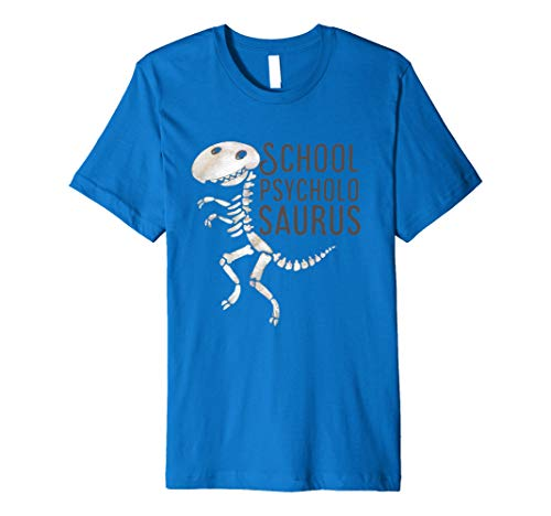 School Psychologist T-Shirt School Psycholosaurus Halloween ()
