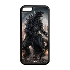 customized Godzilla for Iphone 5C case 5C-brandy-140162