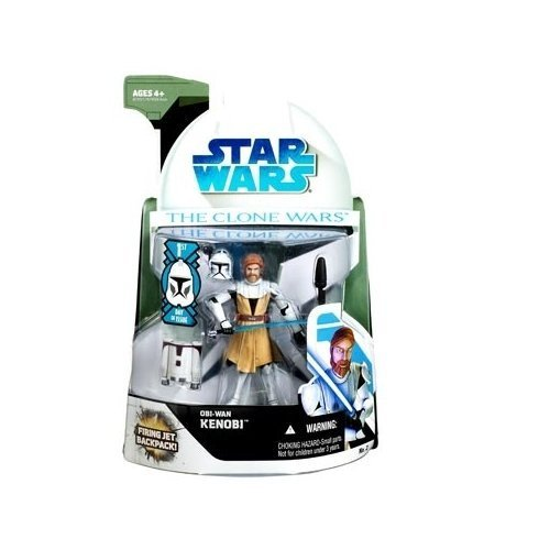 Star Wars The Clone Wars Obi-Wan Kenobi Action Figure