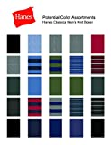 Hanes Men's 5-Pack Ultimate  Dyed Exposed Waistband Knit Boxer with ComfortFlex Waistband -  Assorted Colors, Large