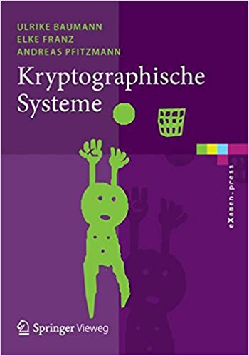 Book Kryptographische Systeme (eXamen.press)