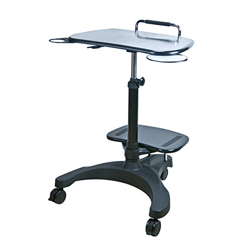 Aidata USA LPD009P Sit Stand Mobile Laptop Workstation by AIDATA CORP CO LTD
