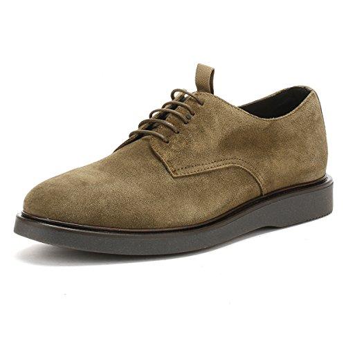 Hudson Hommes Olive Suède Killick Chaussures