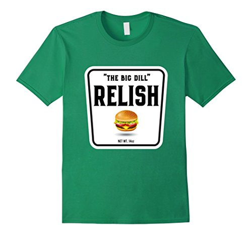 Ketchup Mustard And Relish Halloween Costumes (Mens Easy Halloween Costume Ketchup Mustard Relish Couples tees XL Kelly Green)