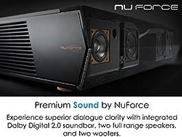 Amazon com: Optoma CinemaX P1 4K UHD Laser TV Home Theater