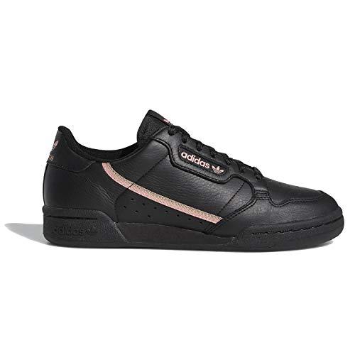 adidas Originals Women's Continental 80 Shoe, Black/Trace Pink/Copper, 10 Medium US -