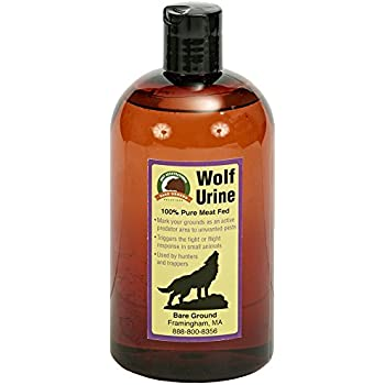 Just Scentsational WU-16 Wolf Urine Small Pest Repellent, 16 oz