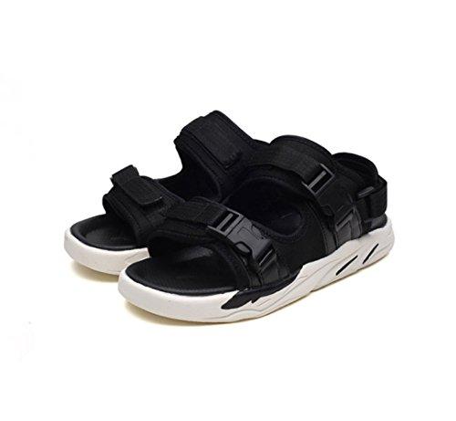 Pantofole Uomini Traspiranti Moda Spiaggia Comode Scarpe Antiscivolo Adolescenti da Black Sandali wSfIqxOS