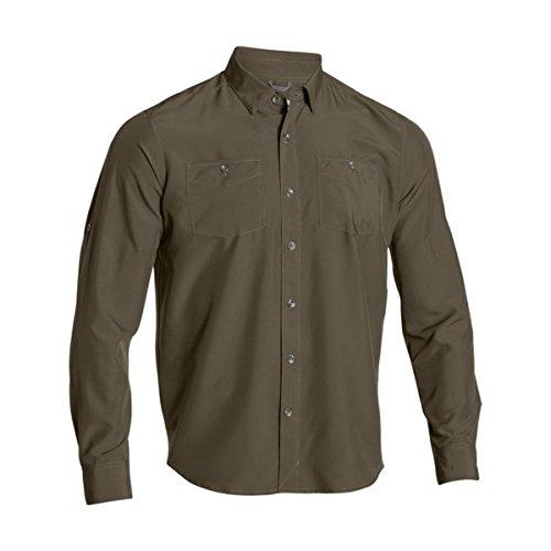 Under Armour UA Chesapeake LS Shirt - Men's Desert Sand / Desert Sand Medium